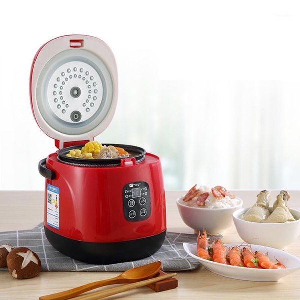 best selling 300W Mini Rice Cooker Portable Cooking Pot With Reservation And Timing 220V 1.2L Electric Rice Cooker Automatic Multi1