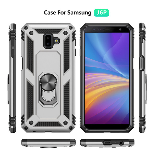 top popular Prime Case Kickstand Armor Covers+ Prim Magnet Phone case For Samsung Galaxy S7 8 9 10 PLUS S10 S10E 5G S20PLUS Ultra Note 8 9 10 20 + 2021