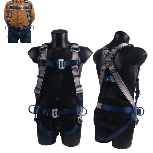 top popular professional Rock Climbing Harnesses Full Body Safety Belt Anti Fall Removable Gear Altitude protection Equipment Q1118 2021