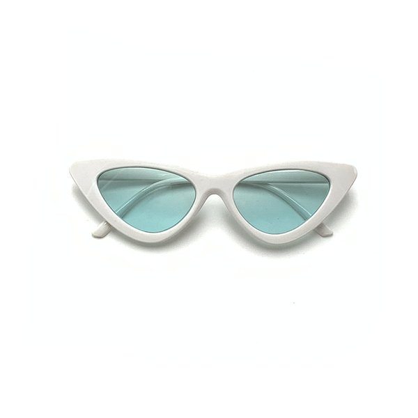 White Frame Green Slice