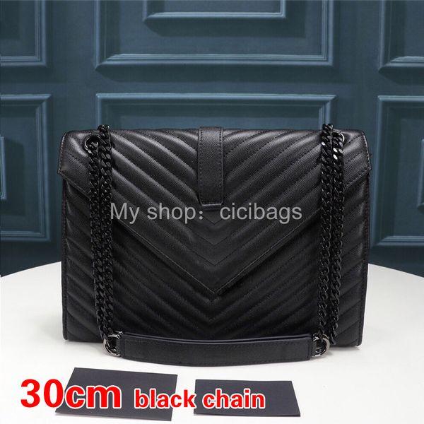 V noir noir-30cm