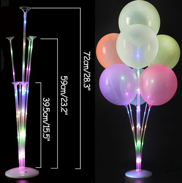 7 Tube RGB Light