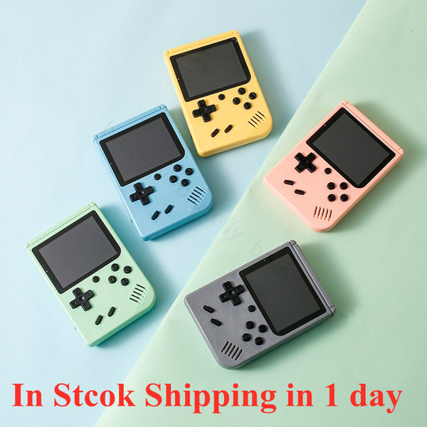 best selling Gift Macaron Portable Retro Handheld Game Console Player 3.0 Inch TFT Color Screen 800 500 400 IN 1 Pocket