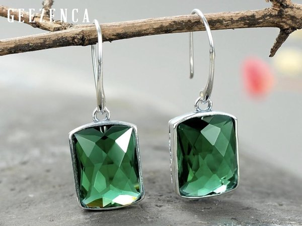 Grüner Kristall-China.