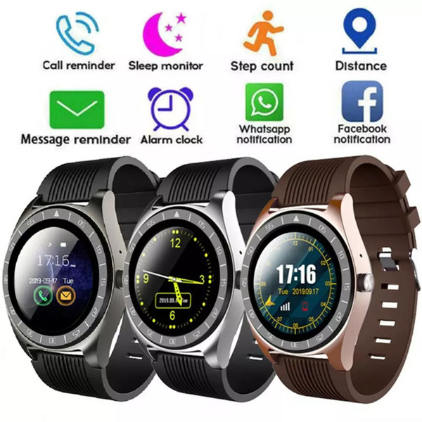 best selling V5 Smart Watch Bluetooth 3.0 Wireless Smartwatches SIM Intelligent Mobile Phone Watch inteligente for Android Cellphones with Box