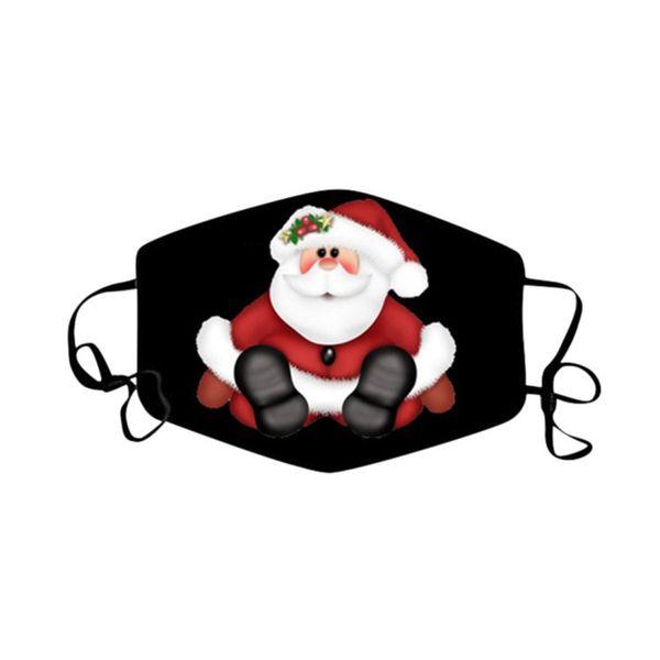 Weihnachtsmaske 04.