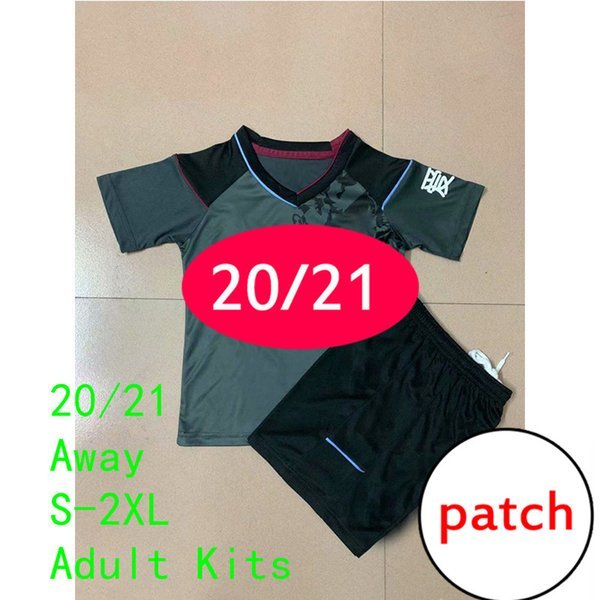 11 Away Adult Kits Patch