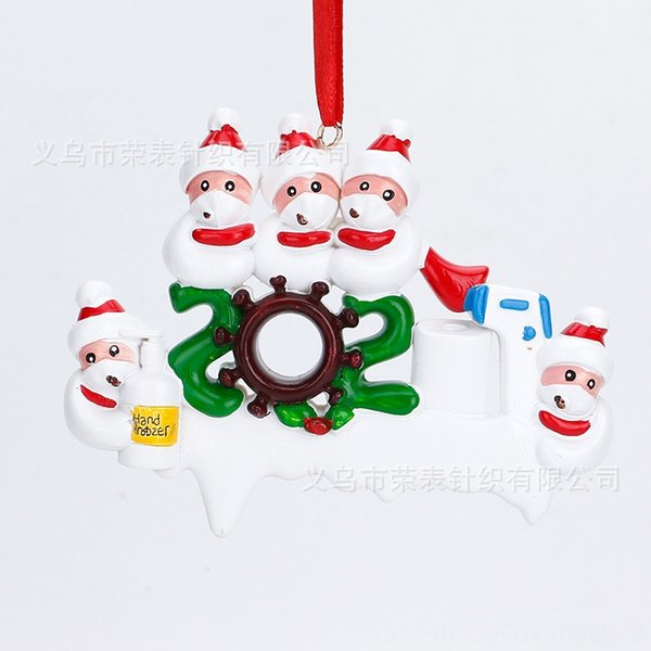 Five Christmas Snowmen
