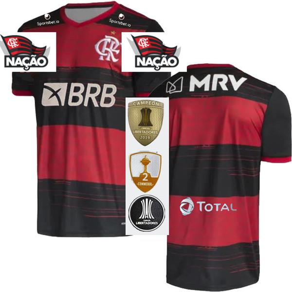 2020 Home+Sponsors+Libertadores patches