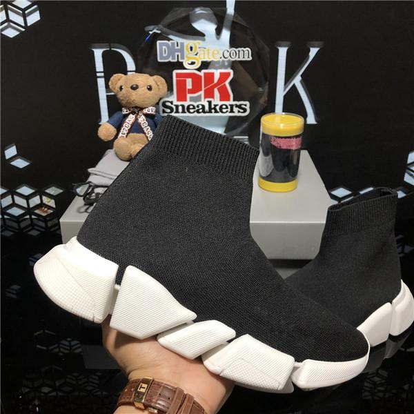 best selling top quality luxurys designers shoes men women pairs socks speed 2.0 trainer triple s sneakers mens womens outdoor platform casual shoes