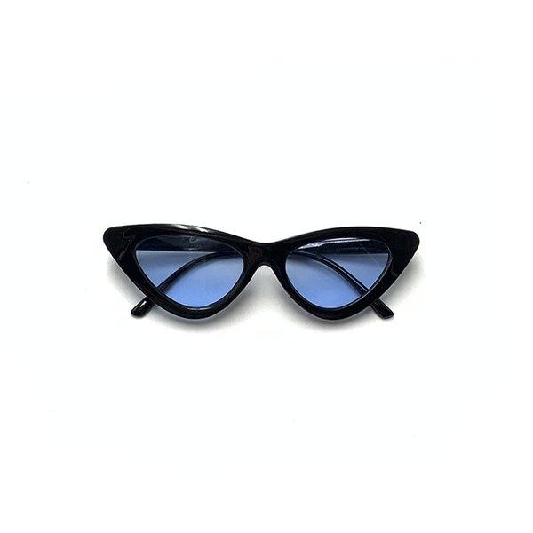 Black Frame And Blue Slice