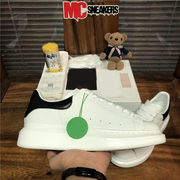 top popular Top Quality Men Women Luxurys Designers Casual Shoes 3M Reflective Sneakers Fashion Women Leather Velet Outdoor Platform Shoes Size 36-45 2021