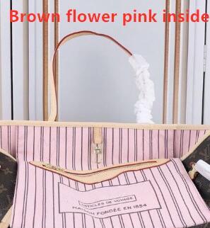 Fiore marrone + rosa