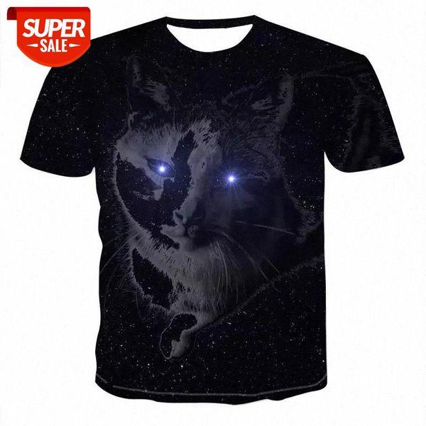 top popular Men 2020 Newest Harajuku animal 3D Print Cool T-shirt Men Women Short Sleeve Summer Tops Tees animal t shirt Fashion #S35i 2021