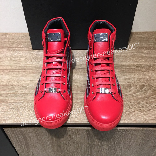 2021top new Man latest small dirty shoes dirty, soft and comfortable, fashionable high-rise sports shoes cy190801