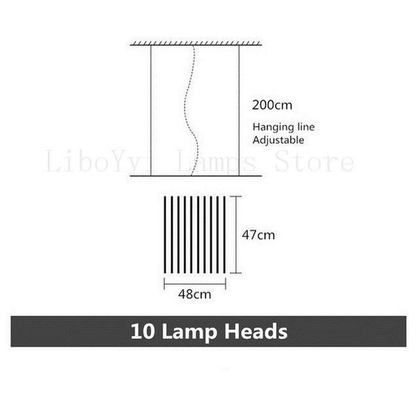 10 Lamp arm Black lamp body Dimming with
