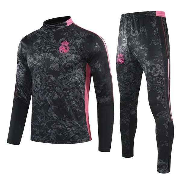 Real Madrid black with pink
