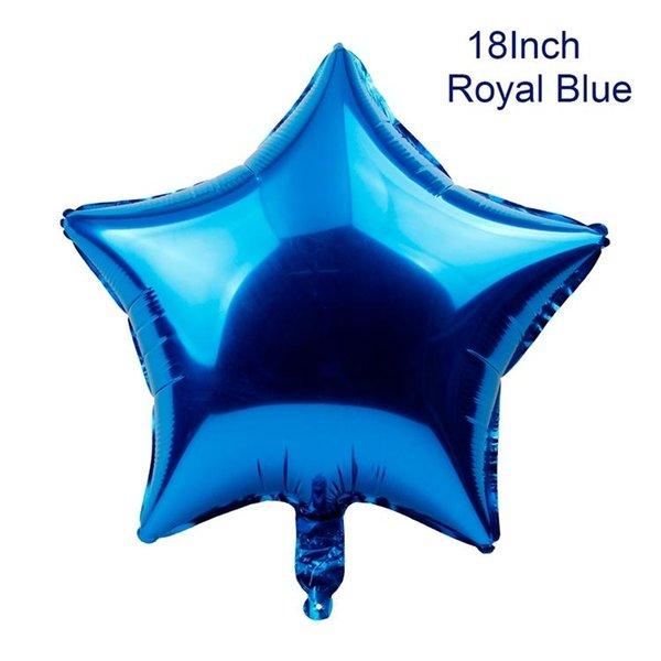 محفظة 5pcs الملكي النجمة الزرقاء