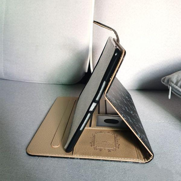 For 2020 ipad 12.9 High-grade Tablet Case for 2020 ipad pro 11 Air10.5 mini123 mini45 ipad10.2 Fashion Classic Leather Card Pocket ipad Case