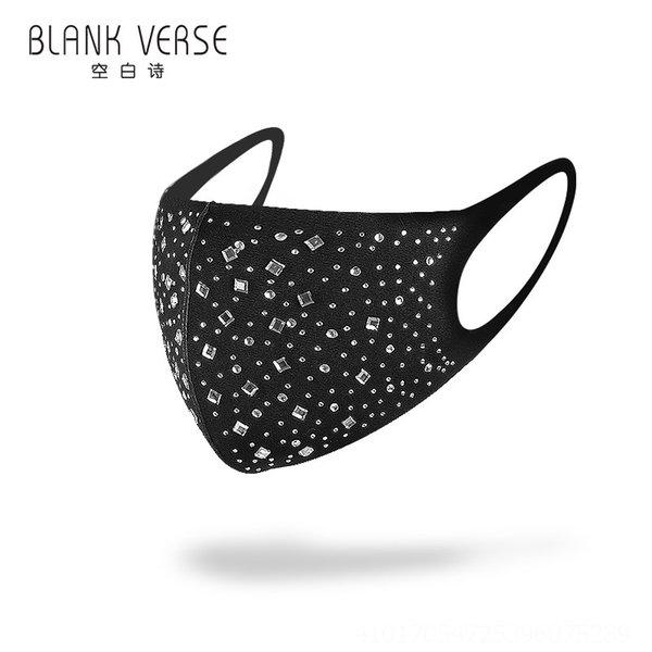 153-diamante branco com as costas pretas # 50393