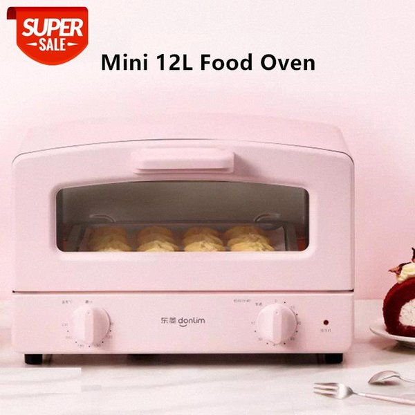 top popular 220V 12L Household Electric Food Oven Automatic Bread Baking Machine Fast Heating Easy Operation Mini Cookies Baker #8n6P 2021