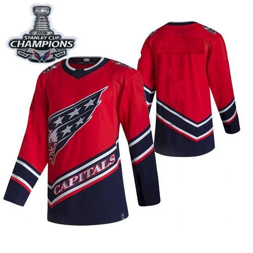 Red 2018 Stanley Cup Pacth