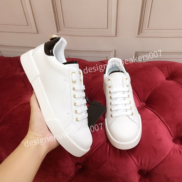 2021top new Mans arrival Casual Shoes White Black Red Fashion Mens Women Leather Breathable Shoes Open Low sports Sneakers hc191006
