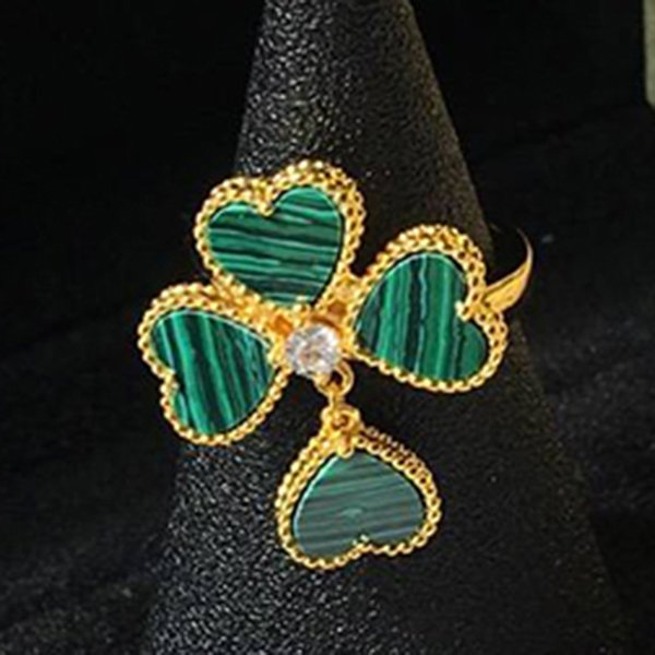 Anello verde 6.