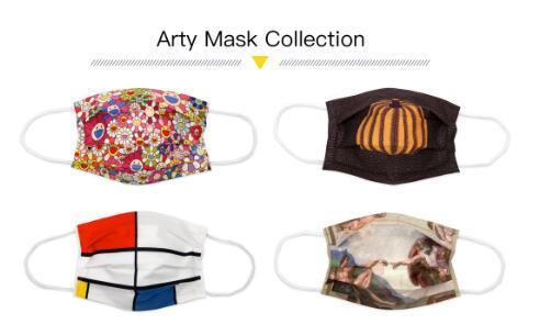 Collection de masques d'art