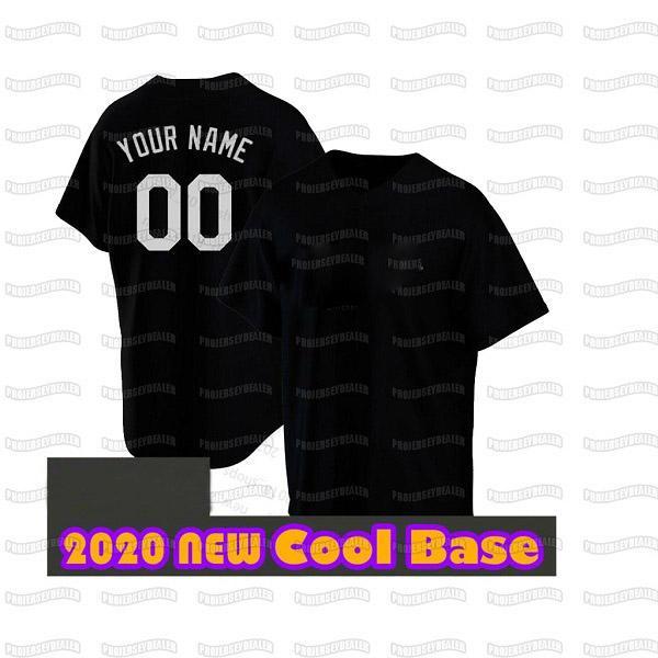 Black Cool Base Mens S-XXXL