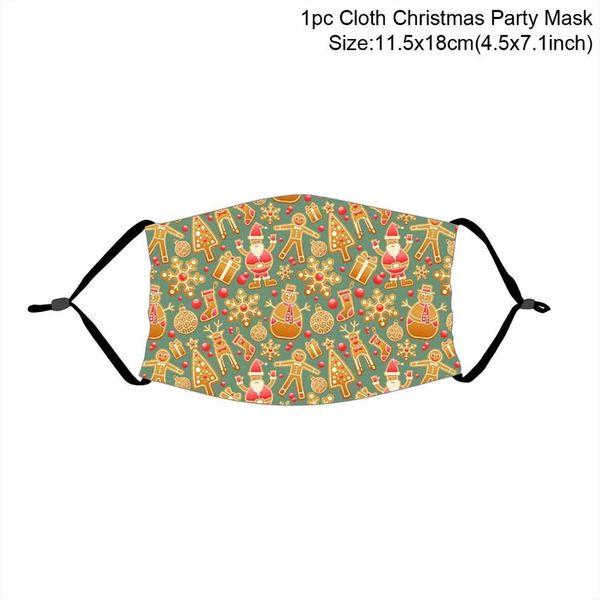 máscara de Natal 22