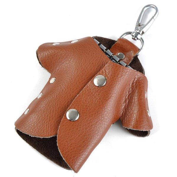 bolsa marrón Llavero