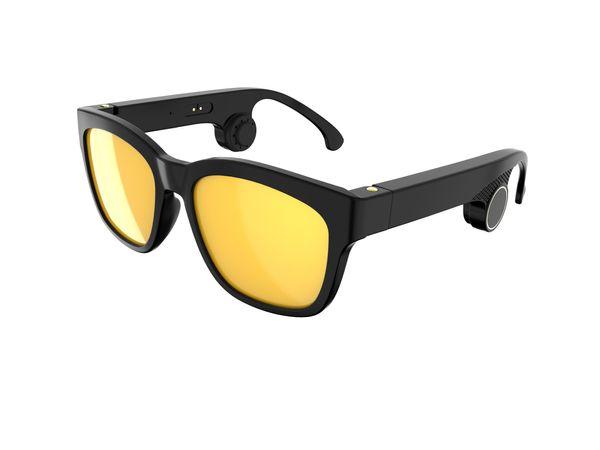 Cadre noir jaune