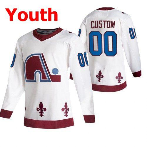 Youth White 2021 inverse rétro