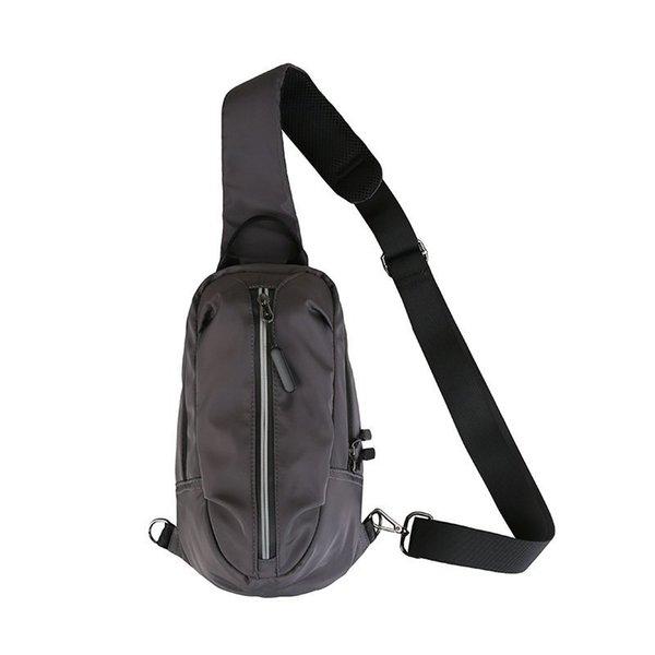 Grey Chest Bag