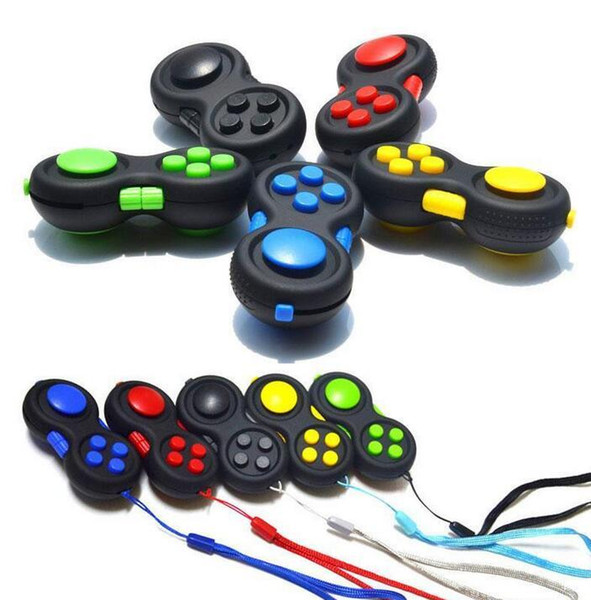 best selling Fidget Pad Controller Cube Sensory Silent Puzzle Game Fidget Toys Set Relief Stress and Anxiety Depression for ADHD Autism Adult Kid FY9386