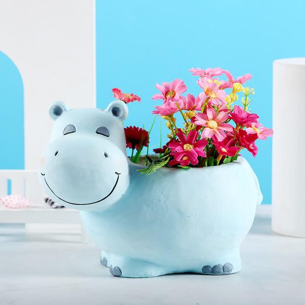 Hippo Flowerpot-21.2x14x16cm