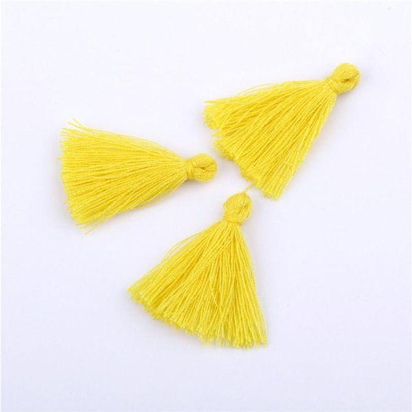 Borlas amarillas