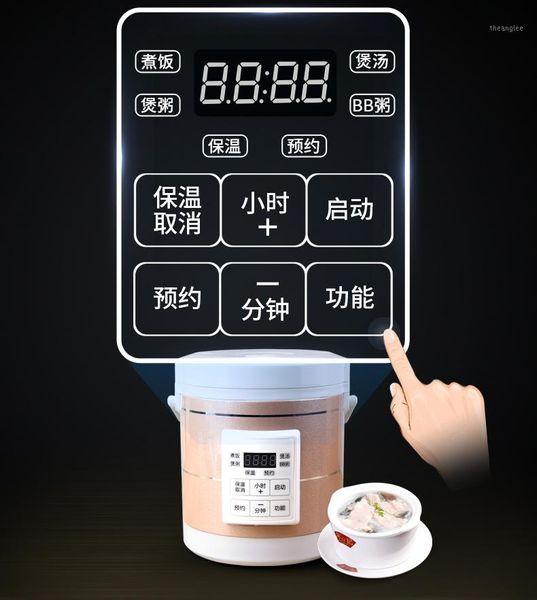 top popular 12V 24V mini rice cooker 1.6L car trucks electric soup porridge cooking machine steamer warmer fast heating lunch box1 2021
