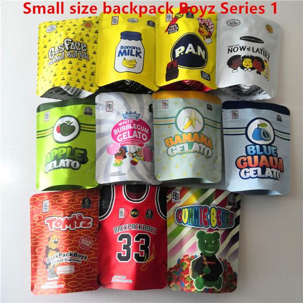 best selling Jokes up backpack boyz 3.5g Mylar Bags Tomyz Merzcato BACKPACK BOYZ 33 GAS FACE Lechera peanut butter Mintz 420 Dry Herb Flower Packaging