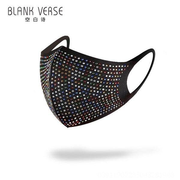 Black colorido diamante-l # 50393