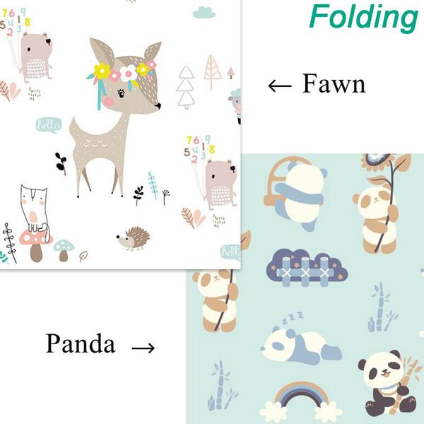 Folding Fawn Panda