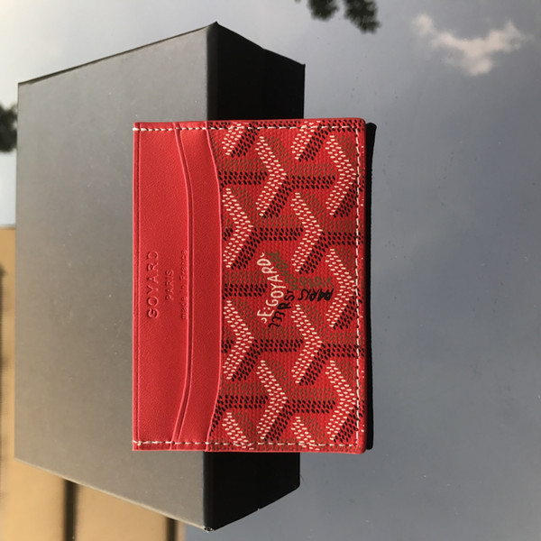 Red - Card Case
