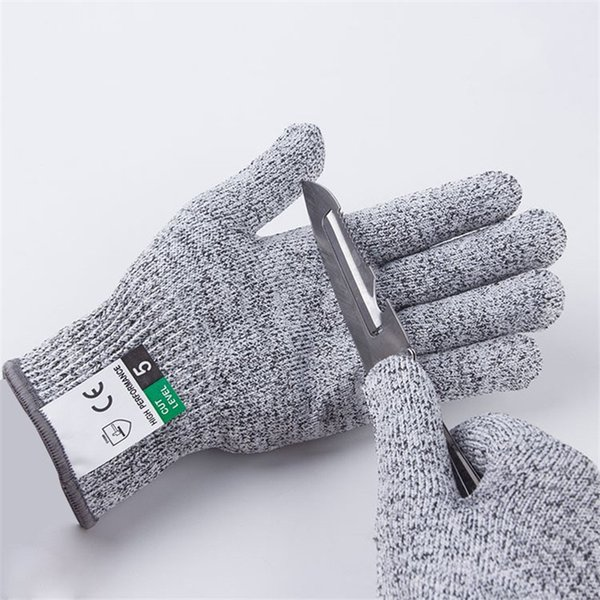 best selling Level 5 Cut Proof Stab Resistant Wire Metal Glove Kitchen Butcher Cuts Gloves for Oyster Shucking Fish Gardening Safety Gloves