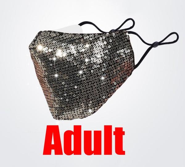 adult golden mask
