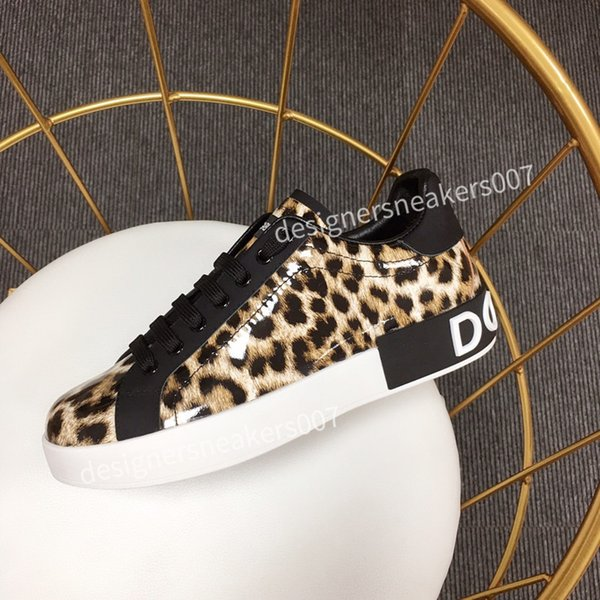 2021NEW Fashion Women Shoes Men's Leather Lace Up Platform Oversized Sole Sneakers White Black Casual hc190901