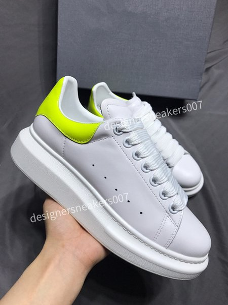 2021Woman sneakers leather shoes leather shoes increase Men And Women size gp190701