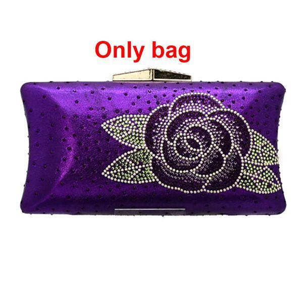 Bolso solo púrpura