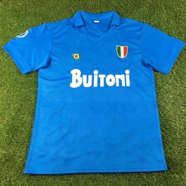 87-88 Napoli Home.