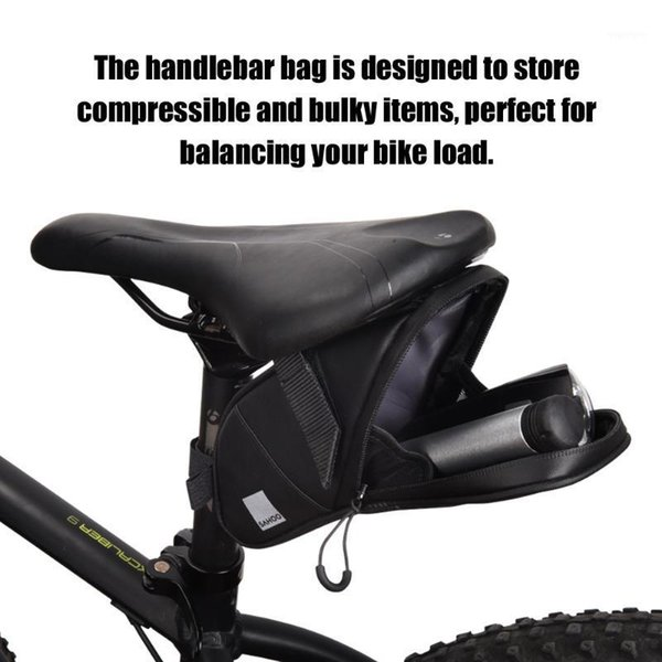 top popular Cycling Bags Mountain Road Bike Bicycle Strap-on Rear Seat Tail Bag Pouch Pannier Sack Pack1 2021